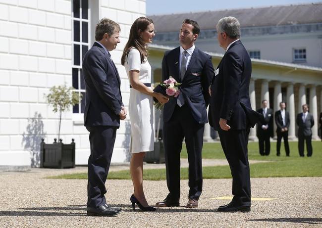 Duchess of Cambridge, Sir Ben Ainslie, Sir Charles Dunstone, Sir Keith Mills