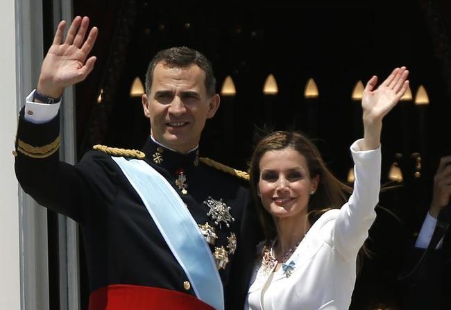 King Felipe VI, Letizia,