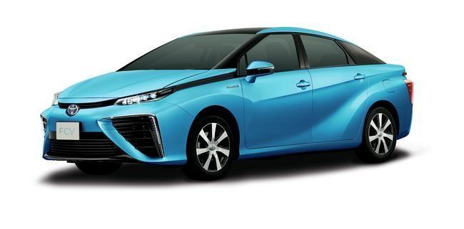 Toyota's Fuel Cell Sedan