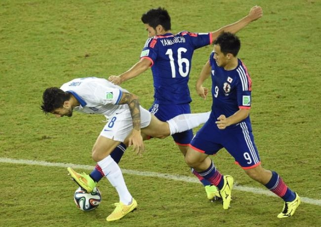 Greece vs Japan