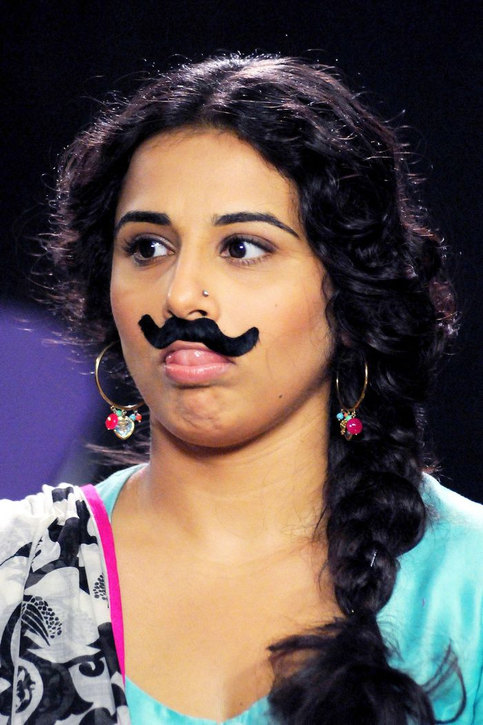 Vidya was on the sets of the children's show 'Captain Tiao'. Photo: AFP