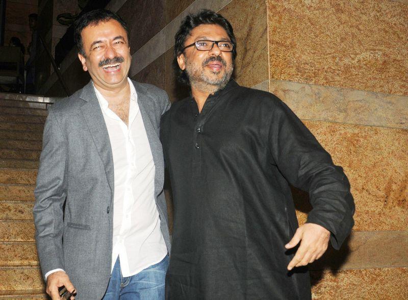 Raju Hirani and Sanjay Leela Bhansali