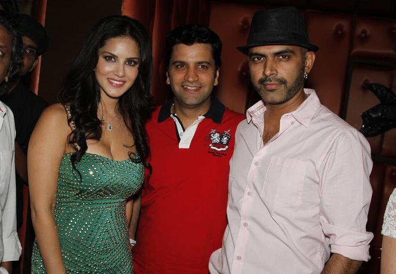 Sunny Leone, Kunal Kapoor and Rajix Laxman