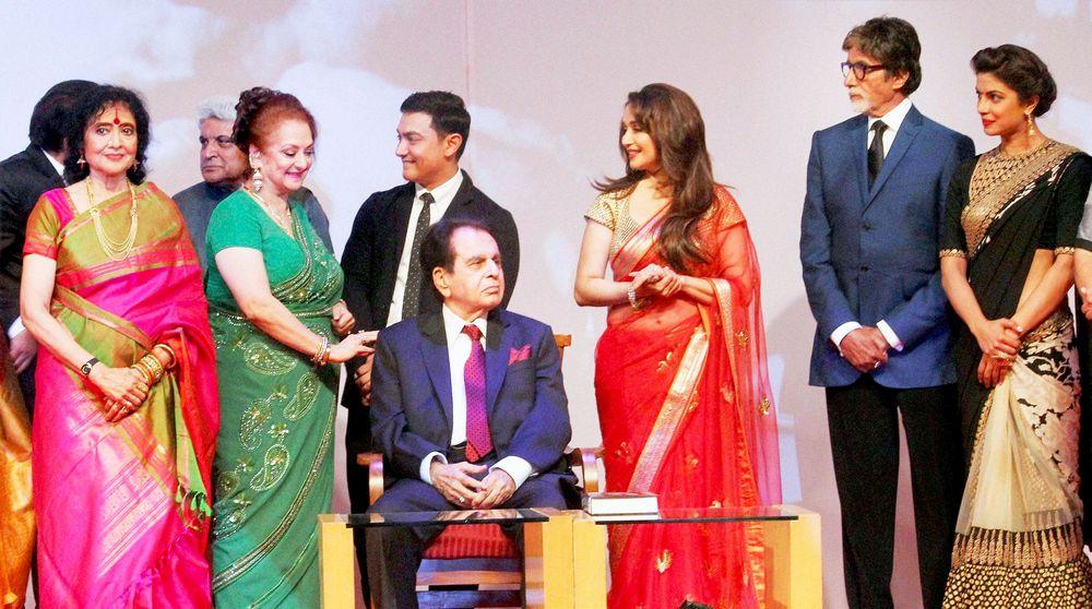 Priyanka Chopra, Madhuri Dixit- Nene, Vyjayanthimala Bali, Dharmendra, Aamir Khan, Saira Banu, Dilip Kumar, Amitabh Bachchan, Javed Akhtar,