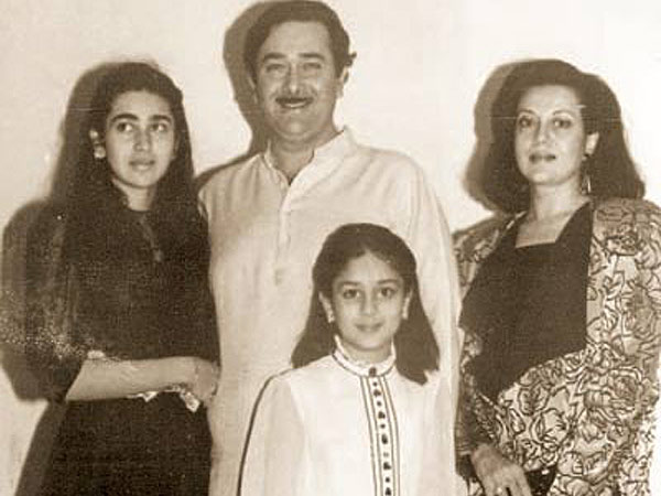 Karisma Kapoor family photo