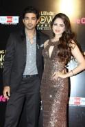 Saqib Saleem and Zoya Afroz at Big Life OK Now Awards