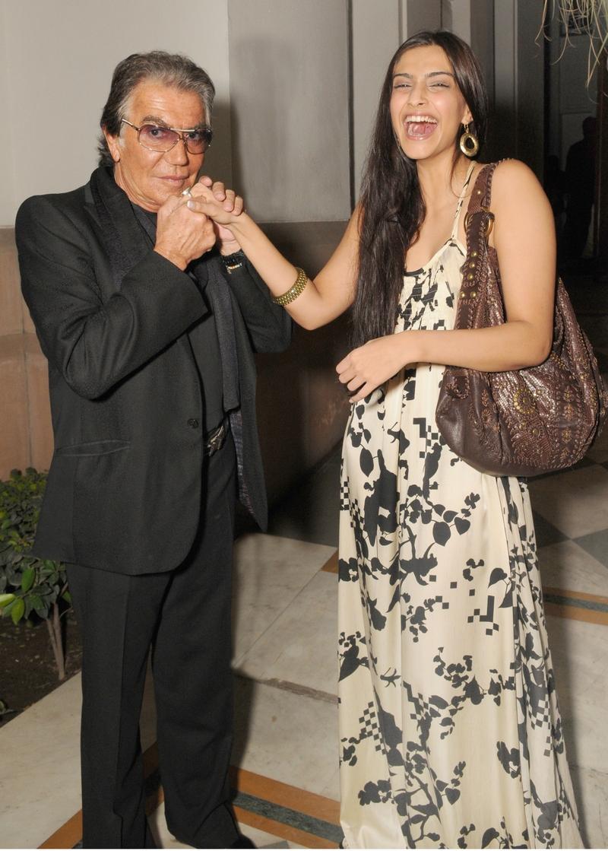 Sonam Kapoor and Roberto Cavalli