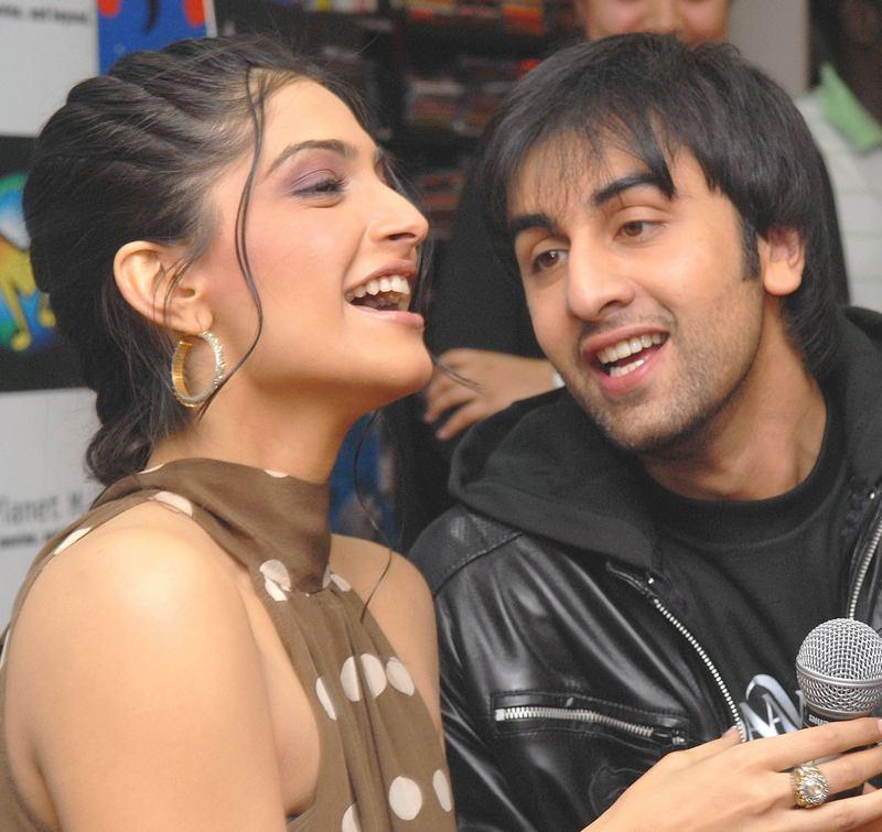 Sonam Kapoor and Ranbir Kapoor