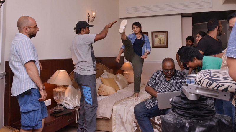 Rani Mukerji shoots for Mardaani