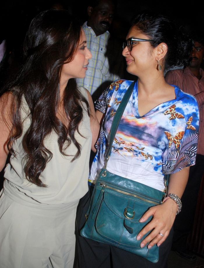 Kiran Rao and Rani Mukerji