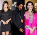 Shah Rukh Khan, Priyanka Chopra, Madhuri Dixit-Nene