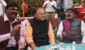Holi-Milan At BJP President Gadkari