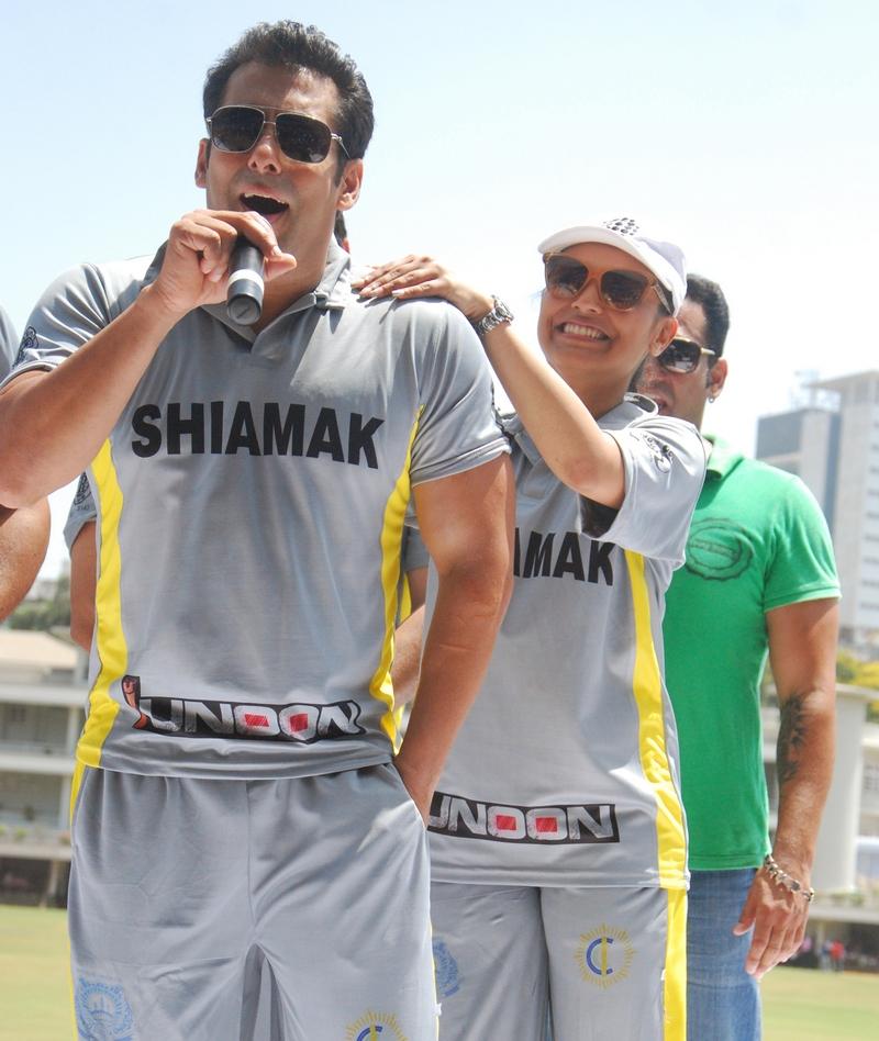 Salman Khan and Rani