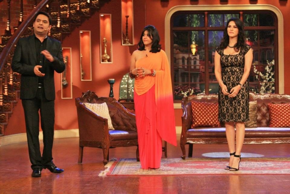 Kapil Sharma recently hosted Sunny Leone and Ekta Kapoor on his show Comedy Nights With Kapil!