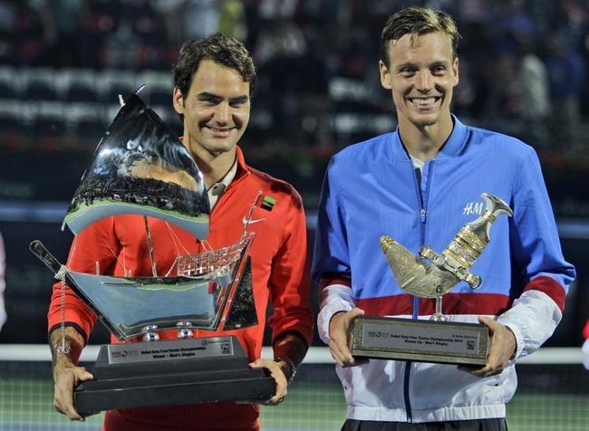 Roger Federer, Tomas Berdych