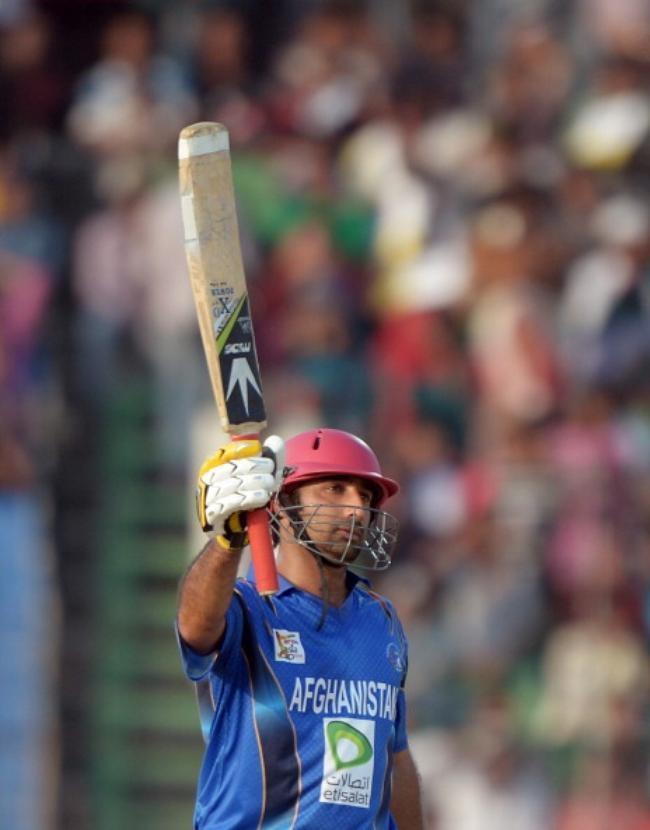 Asghar Stanikzai scored an unbeaten 90