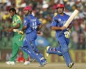 Afghanistan's Shenwari and Stanikzai added 164 for the sixth wicket