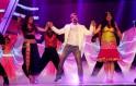 Prosenjit Chaterjee performs during the 1st Vivel Filmfare Awards 2013 (East) at Science City auditorium in Kolkata