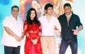 Subhash Ghai, Jackie Shroff, Mishti and Kartik Aaryan