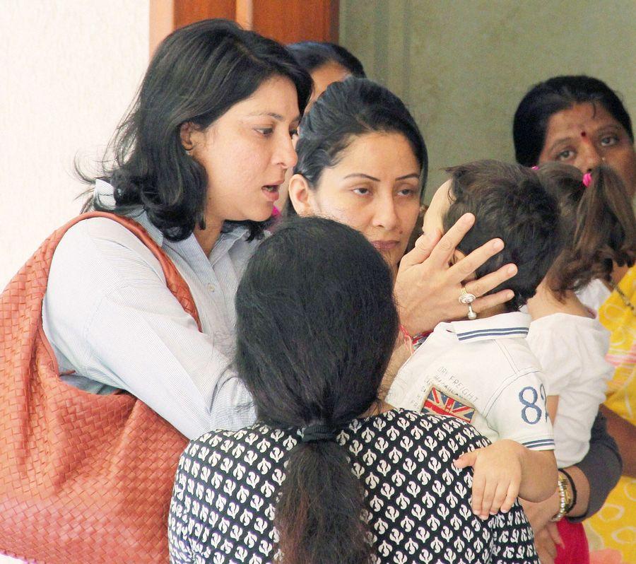Priya Dutt, Maanyataa Dutt, Iqra Dutt, Shahraan Dutt