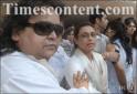 Bappi Lahiri and Rani Mukerji