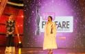 Konkona Sensharma receives the Best Actress for film Goynar Baksho at the 1st Vivel Filmfare Awards 2013 (East) at Science City auditorium in Kolkata