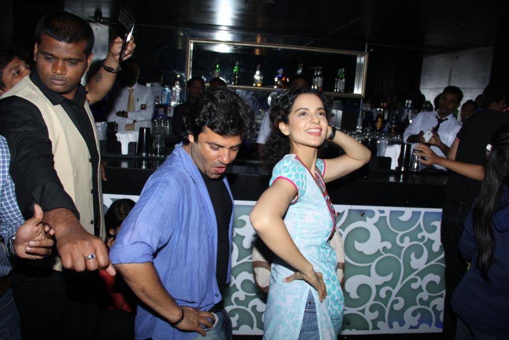 Kangna Ranaut and Vikas Bahl