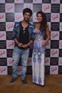 Kushal Tandon & Gauhar Khan at the Stoli Lounge at Lakme Fashion Week