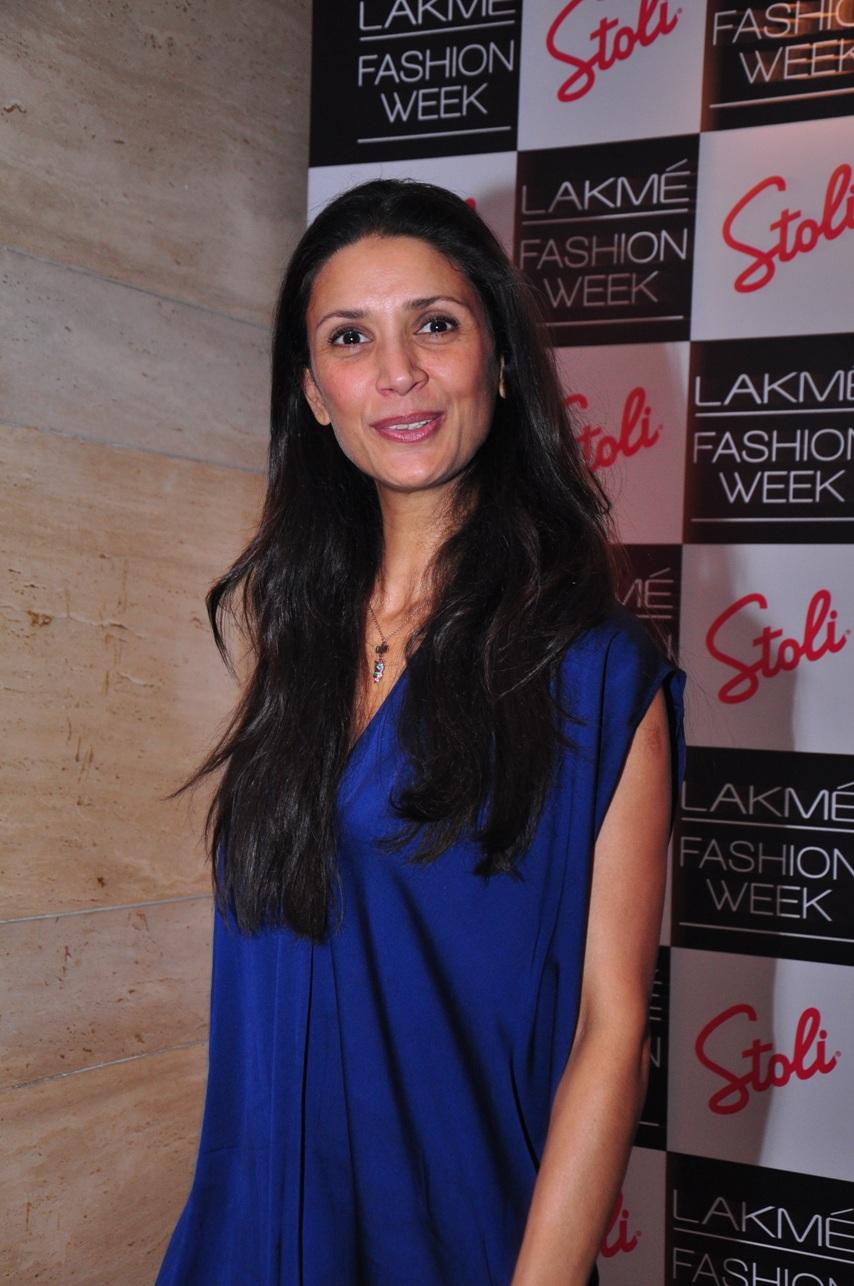 Mehr Jesia at the Stoli Lounge at Lakme Fashion Week