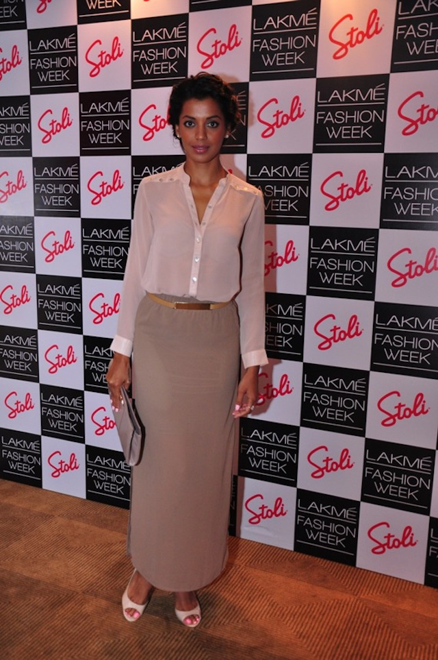Mugdha Godse at the LFW Pre Show Cocktails