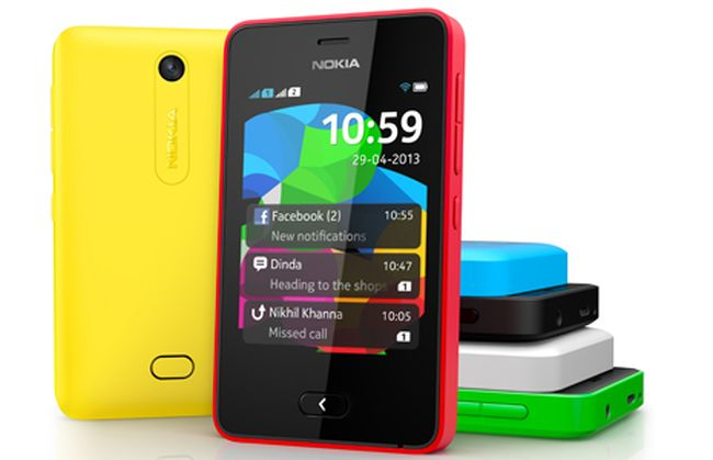 Nokia Asha 501Nokia Asha 501 is a great first smartphone. It's simple OS and the Nokia trust factor makes it an ideal beginner's phone in the below 5k mark.