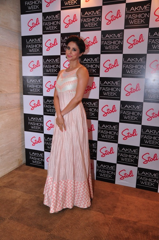 Pre-show cocktails for Anita Dongre's show at Lakme Fashion Week were held at the Stoli Lounge. Here's a look at all the celebs from the bash on day three and four.