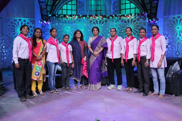 Vidya Balan was roped in to host a special Women's Day TV show