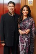 Madhuri Dixit-Nene and Sriram Nene