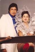 Madhuri Dixit-Nene and Amitabh Bachchan