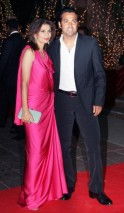 At Karan Johar's 40th Birthday Party