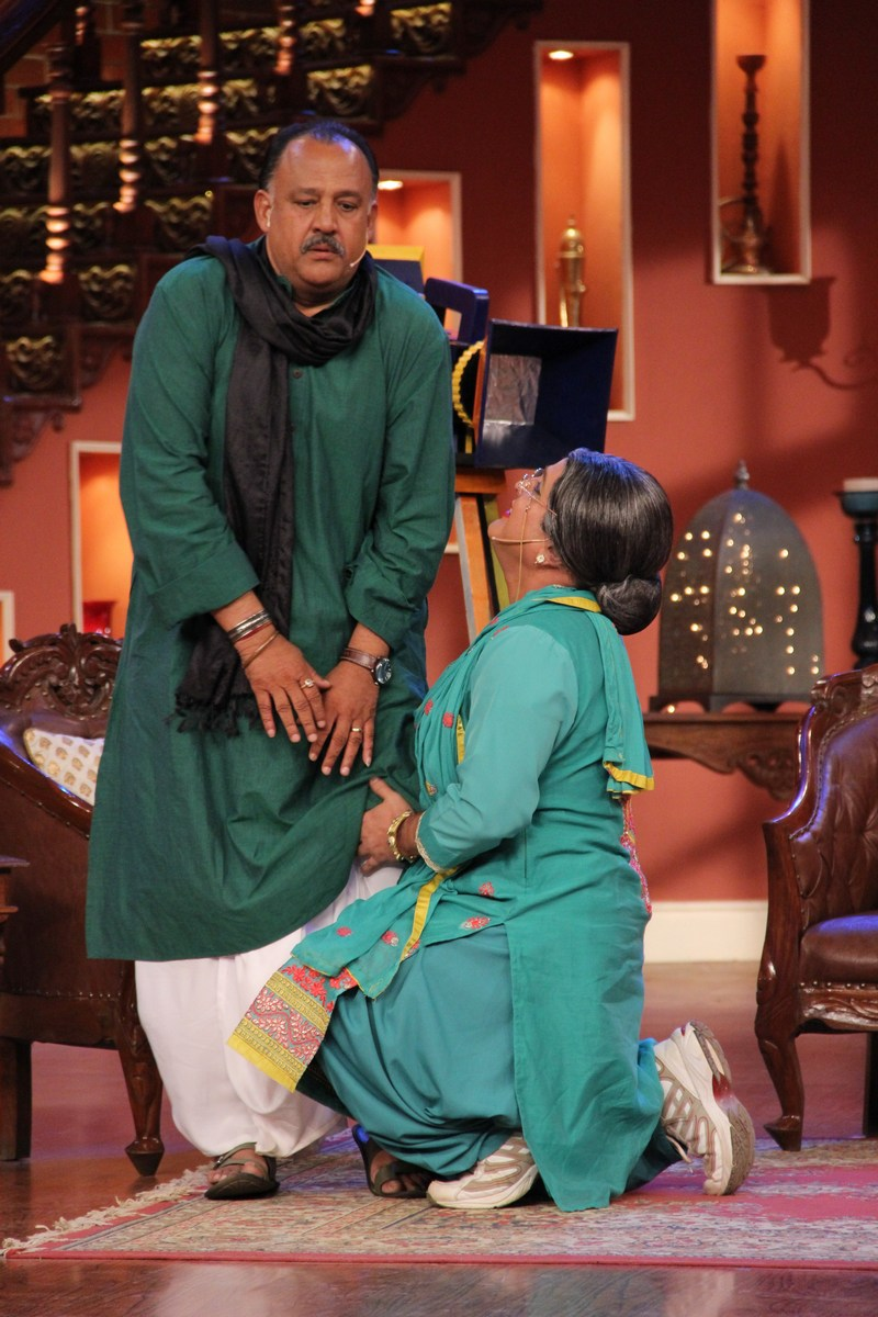 Alok Nath and Bua