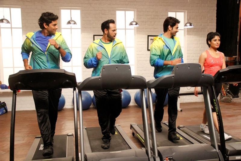 Kritika Kamra, Andy, Purab and Ashish