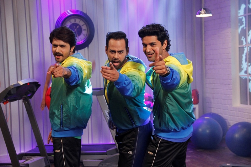 VJ Andy, Purab Kohli and Ashish Sharma