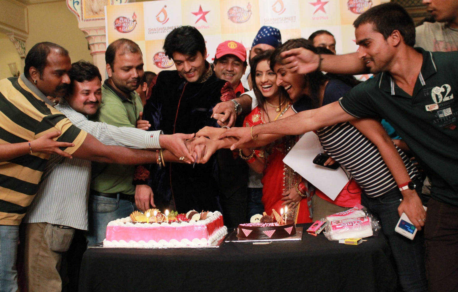 Top rated prime-time daily soap Diya Aur Baati Hum has completed three years of its undisputed run