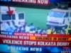 Violent Clash at Football Match in Kolkata