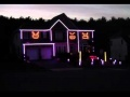 Halloween Light Show - Gangnam Style