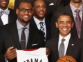 LeBron James' Obama Moment