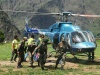 Air rescue operations suspended