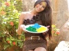 Watch: Poonam Pandeys High And Dry Holi