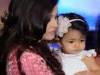 Baby Aaradhya with Aishwariya