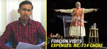 Here's The Account Of Every Single Rupee Spent On Modi's Foreign Visits To 37 Countries!