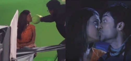 This Video Of Kajal Aggarwal Shows Just How Kissing Scenes Are Shot Down South!