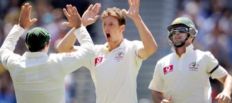 Australia win 1st Test