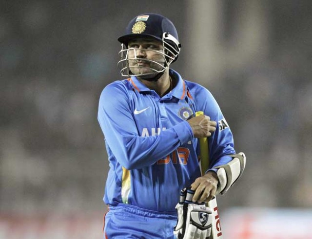 Sehwag says top order letting team down